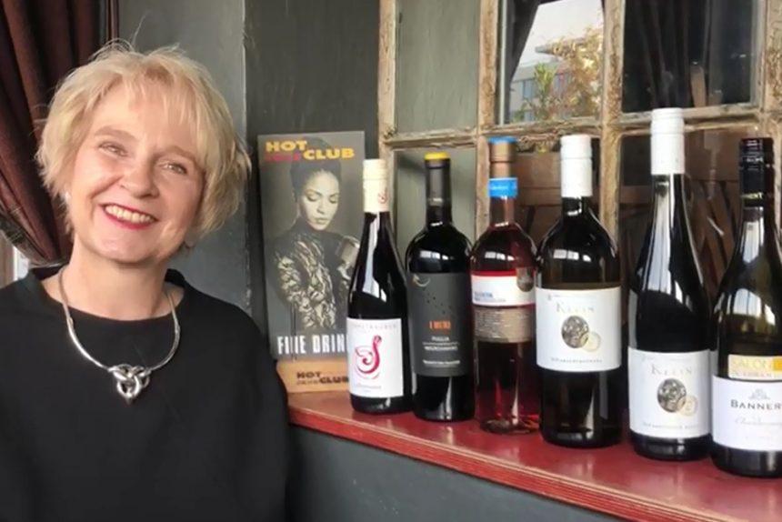 Hot Jazz Club-Weinprobe für Zuhause